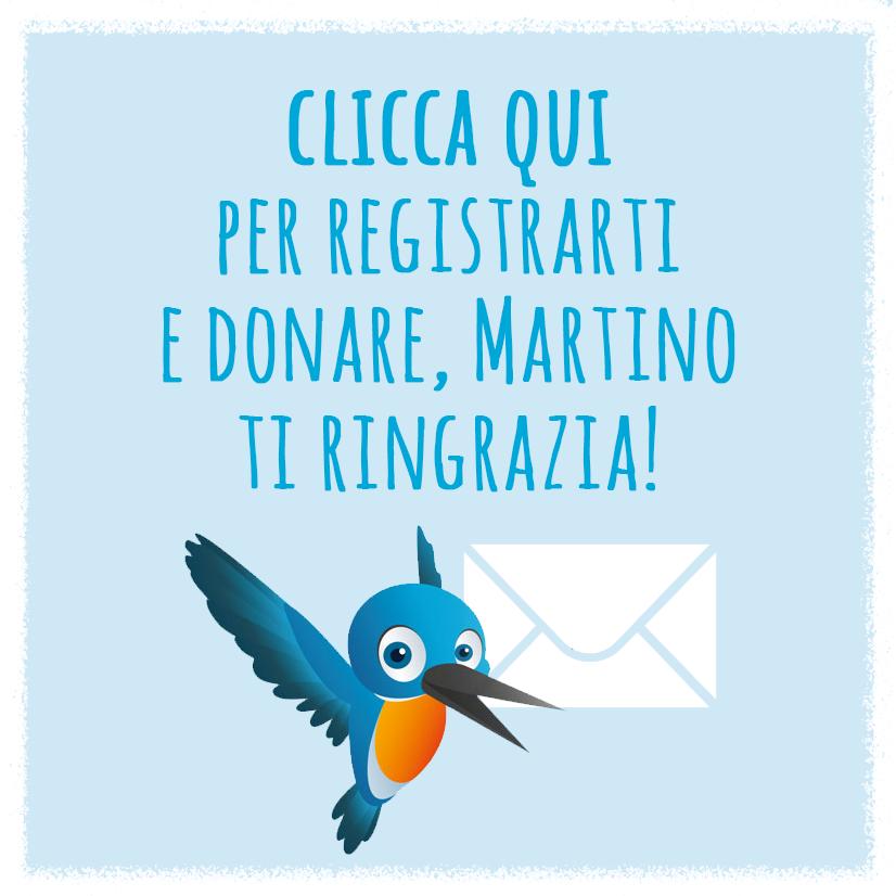 Bottone Registrazione Donazione